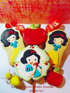 ~°~ Cookies Snow White~°~ - Giovanna Rosa Bento