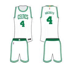 a414351b1 Boston Celtics Home Logo on Chris Creamer s Sports Logos Page -  SportsLogos. A virtual museum of sports logos