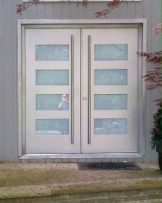 gallery of modern exterior doors by milano doors silver have other colors metal is textured and looks nice in sunshine