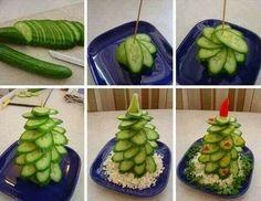 Komkommer  kerst boom