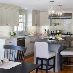 White Kitchen Backsplash Design Ideas, Pictures, Remodel, and Decor - page 4