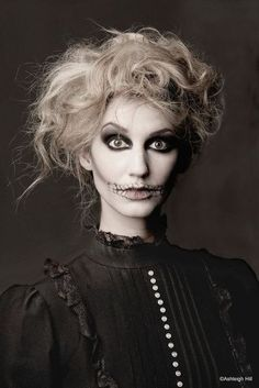 Ghost makeup catherinee gruntman Auger - This reminds me of you for some reason! Something you would like/shoot :)