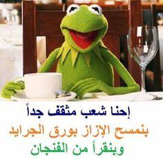 culture Funny Qoutes, Sarcastic Quotes, Jokes Quotes, Funny Memes, Funny Sarcastic, Arabic Jokes, Arabic Funny, Funny Arabic Quotes, Funny Frogs