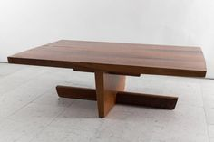 George Nakashima, Large Minguren Low Table, USA, 1974 6