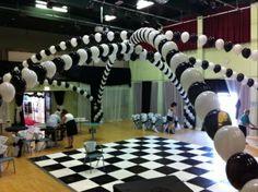 Black and white mega arches