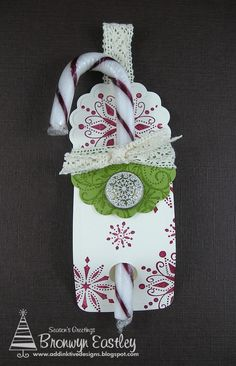 addINKtive designs: Candy Cane Holder