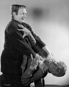 Frankenstein Meets the Wolf Man is a 1943 Universal horror movie starring Lon Chaney, Bela Lugosi, Ilona Massey, Patric Knowles and Maria Ouspenskaya. Cool Monsters, Famous Monsters, Classic Monsters, Classic Horror Movies, Horror Films, Horror Icons, Monster Horror Movies, Monster Movie, Lon Chaney Jr