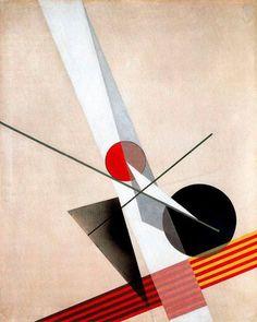 """"""" László Moholy-Nagy, Composition A XXI, 1925 """""""