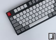 Cheap key chain wedding favors, Buy Quality key bracelet directly from China granite like Suppliers: 1976 keycaps mechanical keyboard thick PBT keycap cherry mx OEM height side print grey white similar granite 87 104 keycaps