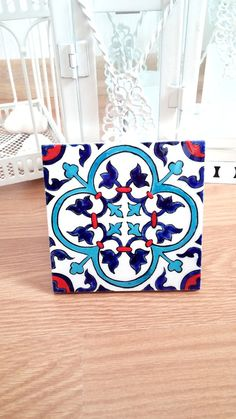 Baldosa cerámica escultura en cerámica azulejo por HilalCiniCeramic