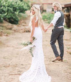 Savannah and Cole LaBrant Wedding dress wedding pictures Savannah Soutas wedding