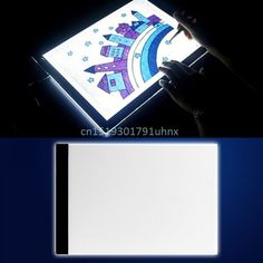 Notebooks & Writing Pads Office & School Supplies Alert A4 Led Stencil Board Light Box Artist Tracing Drawing Copy Plate Table Gift Comfortable Feel