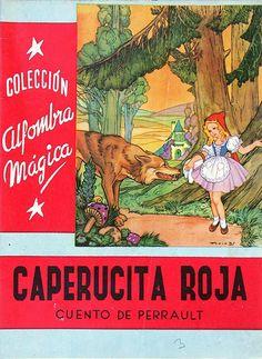 Libros escolares de nuestra niñez- Caperucita Roja 1959