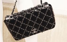 Chanel Mini Bag Embroidered with Chains