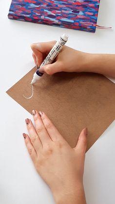 Bullet Journal Hand Lettering, Hand Lettering Alphabet, Calligraphy Alphabet, Modern Calligraphy, Watercolor Lettering, Brush Lettering, Creative Lettering, Lettering Design, Cursive Alphabet