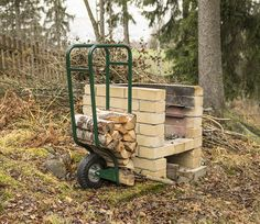 Fleimio Woodhopper besides my grill : ) Fire Wood, I Grill, Le Prix, Wood Storage, Outdoor, Design, Outdoors, Outdoor Games