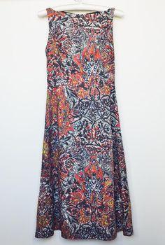 DIY: Abstract midi dress Burda pattern 5/2011 #108b Tags: #mididress #60s #dress #wardrobe #clothing #style #fashion #woman #sewing #diy #sewingproject #classic #cute #beautiful #gorgeous #sewingblog #burda #burdastyle #burdapattern #платье #рукоделие #шитье #выкройка #midi #платьемиди #миди