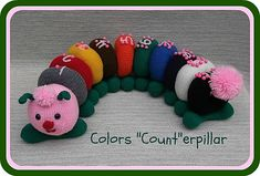 "Ravelry: Knit Colors ""Count""erpillar pattern by Lorraine Pistorio"