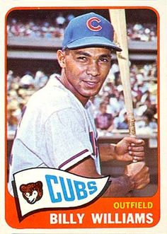 Billy Williams Baseball Card   1965 Topps Billy Williams #220 Baseball Card Value Price Guide