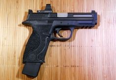You're not bulletproof..., Smith & Wesson M&P9 Pro Series C.O.R.E. A polymer...