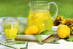 Lemonade Ingredients: ½ cup lemon juice 3 cups water ½ cup sugar Directions: Combine all ingredients and place in the refrigerator. Serve cold with a slice of lemon. Yields 4 cups. Bon Appetit!