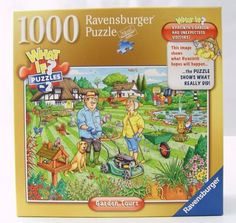 Ravensburger Garden Tours 1000 Piece Jigsaw Puzzle What If Puzzle #2 in Toys & Hobbies, Puzzles, Contemporary Puzzles   eBay