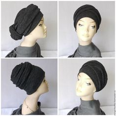 """Купить """"Аврора"""" чалма трансформер весна - модный аксессуар, большие размеры, модная шапка"""