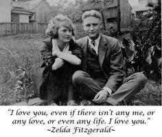 F.SCOTT  FITZGERALD AND ZELDA F.  |