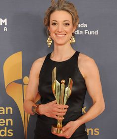 Yeah, but her arms though. Zoie Palmer.