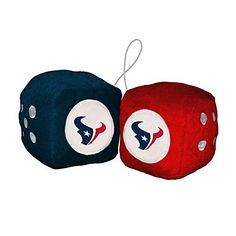 Houston Texans Security Bear Blanket with Black Border 14 x 14 inches BF