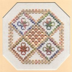 Seasons - hardanger pattern