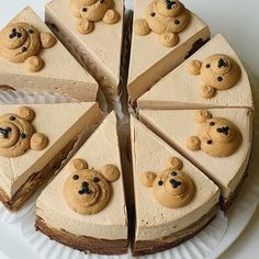 Pretty Birthday Cakes, Pretty Cakes, Cute Desserts, Dessert Recipes, Cute Baking, Frog Cakes, Kolaci I Torte, Think Food, Just Cakes