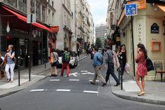 Nouveaux marquage mairir de Paris