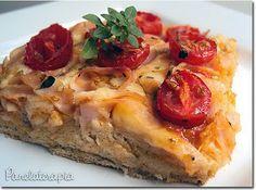 PANELATERAPIA - Blog de Culinária, Gastronomia e Receitas: Focaccia com Massa Integral