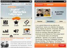 Les applications mobiles du Festival vous guideront afin de ne rien manquer de l'évènement (sur Android et iPhone) !