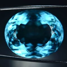 31 35 Ct Awesome Sea Blue Aquamarine Oval Gem | eBay