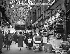 Market Row shopping arcade, off Electric Lane, Brixton