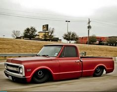 69' C10 with 4/6 drop and black powder coated steel drum rims