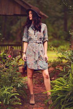 Tried And True Shirtwaist Batik Dress – Go Fish Clothing & Jewelry Company