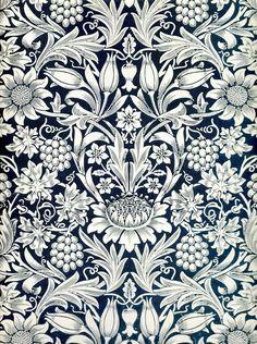 """zijperspace: """" William Morris, Part XVIII: Sunflower Wallpaper. William Morris Wallpaper, William Morris Art, Morris Wallpapers, Textured Wallpaper, Fabric Wallpaper, Of Wallpaper, Designer Wallpaper, Bathroom Wallpaper, Wallpaper Ideas"""