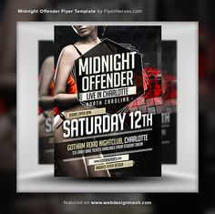 New Free Club Flyer Templates  Advertising    Club