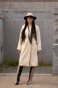 Star Fashion, Fashion Outfits, Womens Fashion, Fashion Styles, Dressy Outfits, Fashion Hats, Modest Fashion, Stylish Outfits, New York Street Style