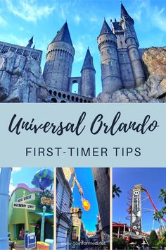 Tips for your first time at Universal Orlando. Learn about where to stay, how to plan your day, and what make Universal different than Disney. From GoInformed.net Universal Studios Florida, Universal Orlando, Minion Mayhem, Hershey Park, Orlando Theme Parks, Planning Your Day, The Simpsons, Adventure, World