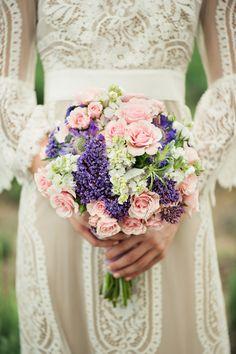 Lace & flowers