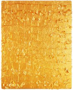 Yves Klein. 'Untitled Gold Monochrome'. 1962