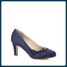 acc33af7e Navy 'Claudia' suedette mid heel court shoes, heel height is approximately  3 inches. abschuhe · Damen Pumps