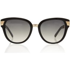 Gucci Black and Gold Sunglasses (401,950 KRW) ❤ liked on Polyvore featuring accessories, eyewear, sunglasses, glasses, black and gold sunglasses, engraved glasses, gucci sunglasses, black and gold glasses and gucci