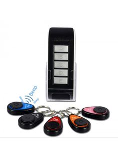 Wireless Key Finder Set - 1 Transmitter, 5 Receivers (Gadgets, Ideas, i . - Gadgets, Inventions & Ideas - # Cool Gadgets For Men, Must Have Gadgets, Awesome Gadgets, High Tech Gadgets, Electronics Gadgets, Music Gadgets, Gold Accessories, Cell Phone Accessories, Ipod