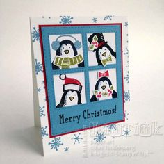 There's a Party at Snow Place! by JanTInk - Cards and Paper Crafts at Splitcoaststampers