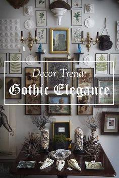Halloween Decor Ideas Gothic Elegance Home Decorating